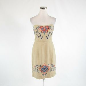 Beige BANANA REPUBLIC sheath dress 4